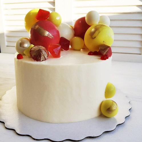 Торт с шарами