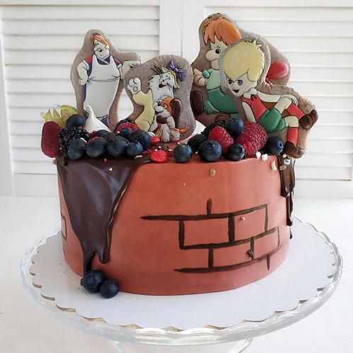 Торт Малыш и Карлсон