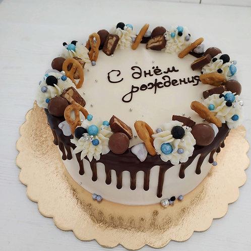 """Торт """"С днём рождения!""""-2"""