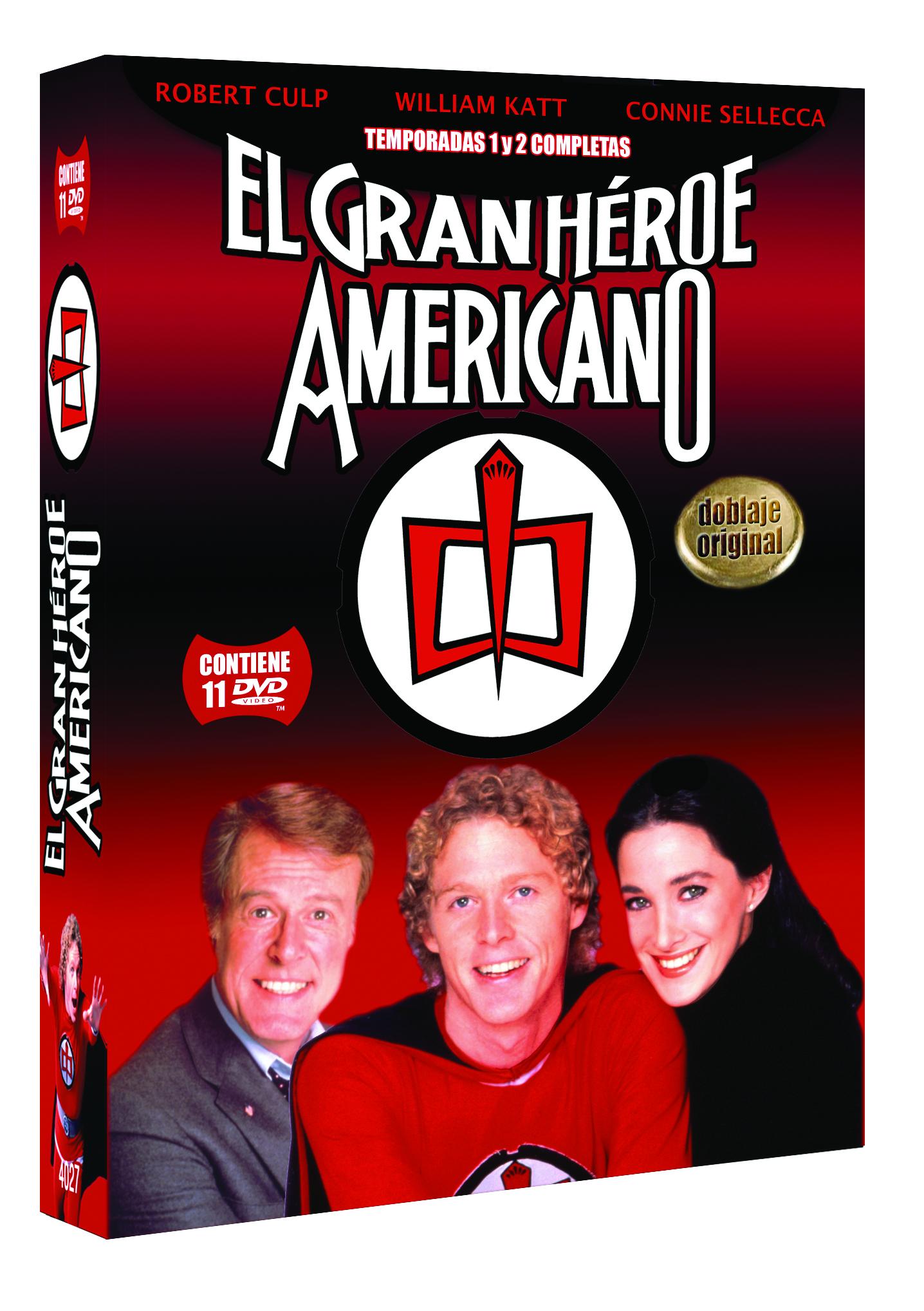El Gran Americano. Temp. 1 y 2 3