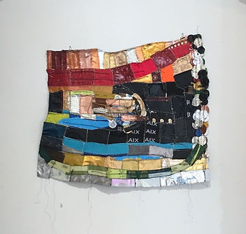 Work by Textile Artist Lillian Montalvo.