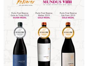 Nuestros Puntos Finales destacaron en Mundus Vini.