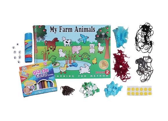 My Farm Animais 2 com kit colagem