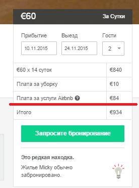aibnb оплата