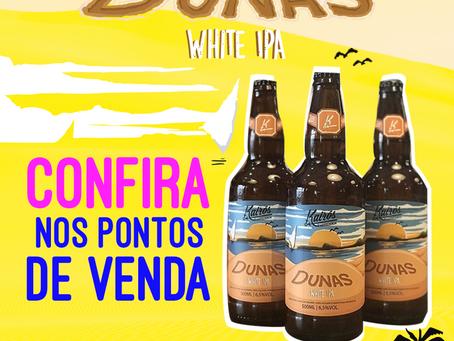 """Lançamento da """"Dunas White Ipa"""" nos bares de Florianópolis!"""