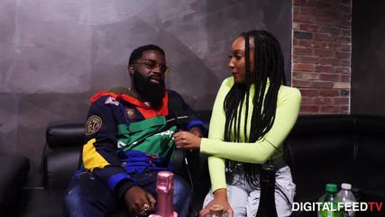 Maurita Salkey Interviews Afro B