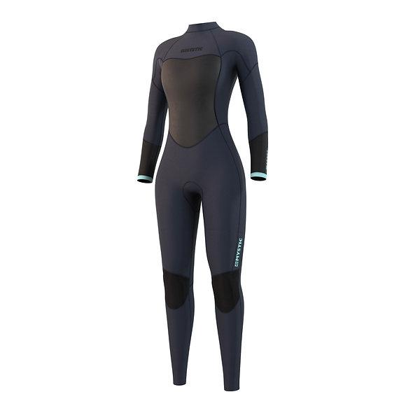 Mystic Brand Fullsuit 3/2mm Bzip Flatlock Women