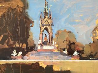 James Hart Dyke's paintings of London