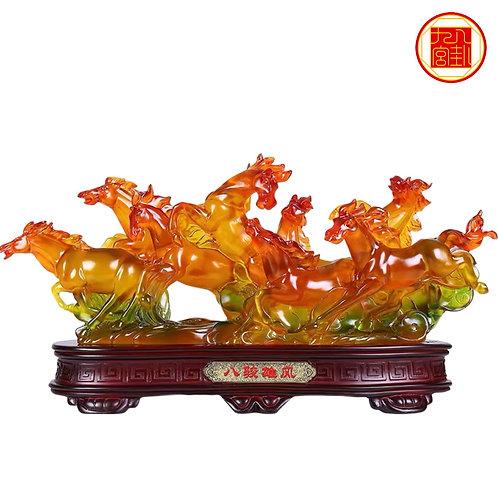 8 Prosperity Liu Li Horses
