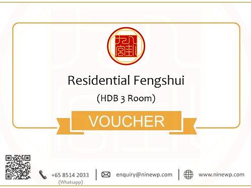Residential Fengshui (HDB 3 Room)