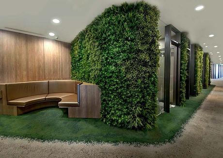 Corridor-Feature-Wall-using-Artificial-G