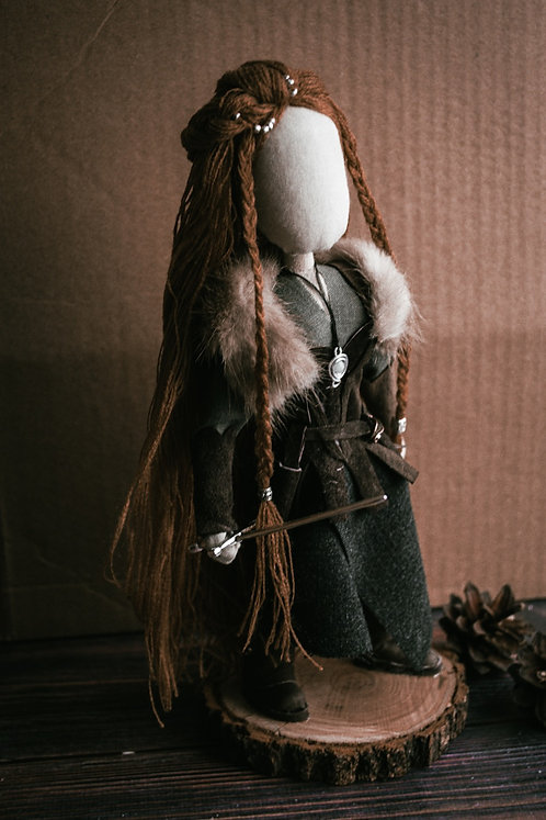 Hilda Viking warrior doll