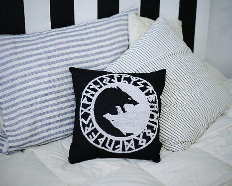 Big pillow Skoll and Hati