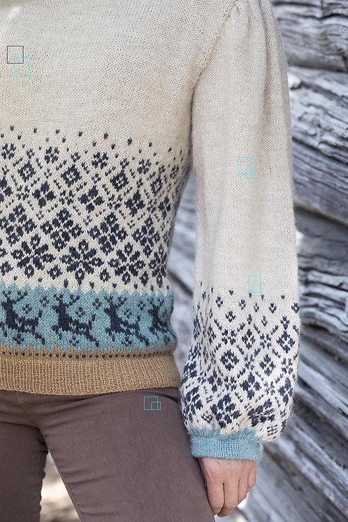 Women's Sweater with deer