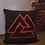 Thumbnail: Valknut black pillow