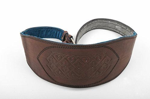 Handmade Wide leather corset belt