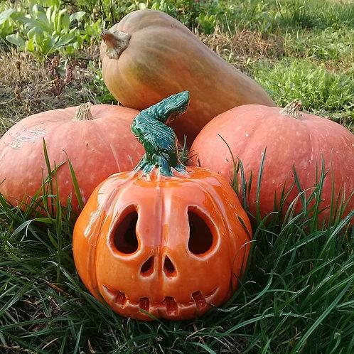 Pumpkin Samhain lamp