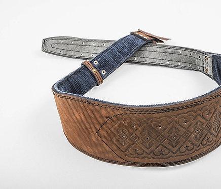 Handmade wide corset men's belt