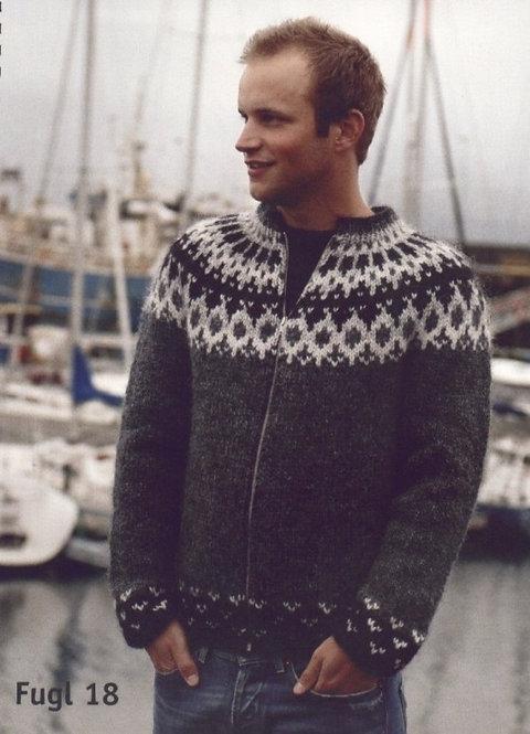 Icelandic pattern jacket