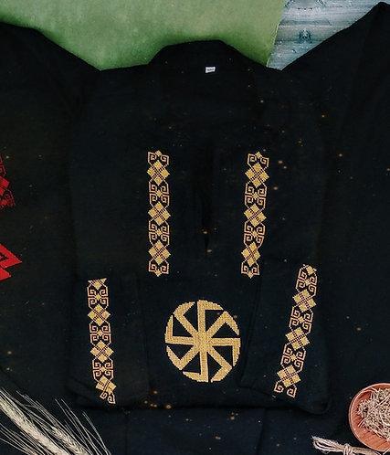 Kolovrat long sleeves black shirt