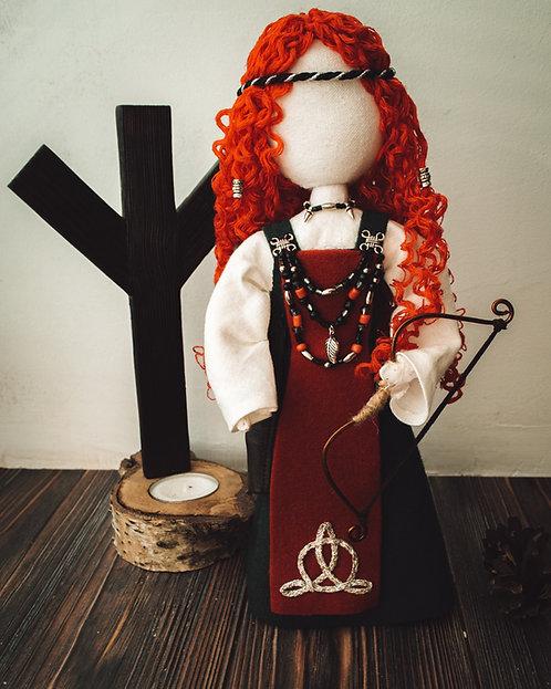 Redhead Viking doll