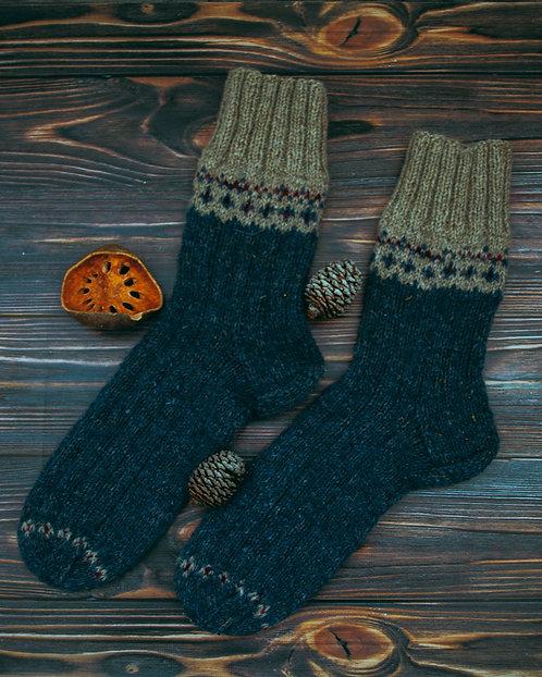 Dark blue socks