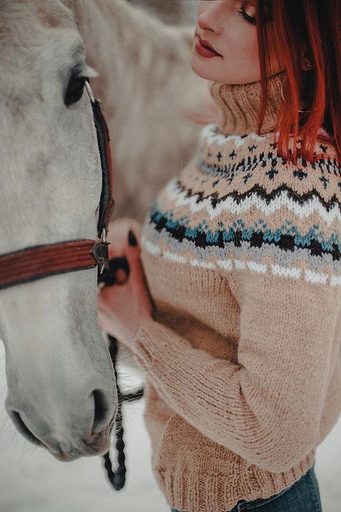 Woman's Icelandic sweater