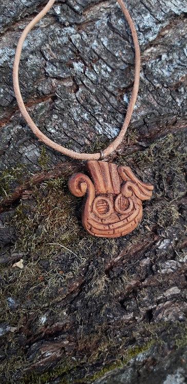 Viking ship pendant