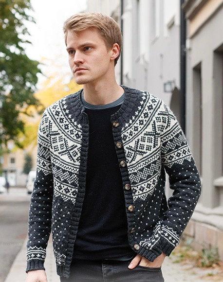 Norse pattern jacket