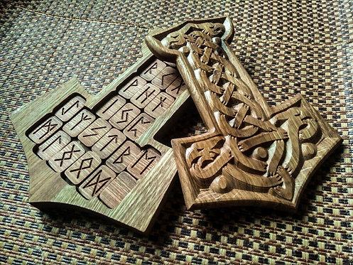 Mjolnir Runic set