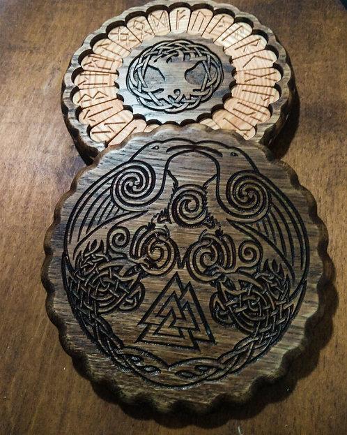 Odin's Ravens Runic set