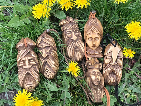 Slavic gods pendants