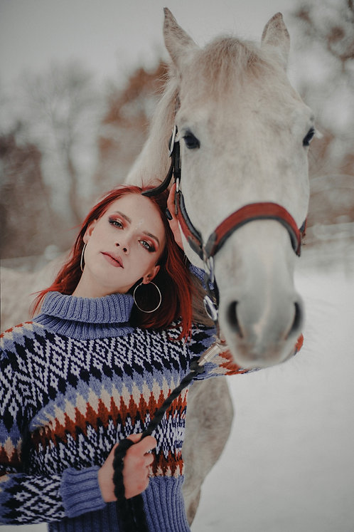 Traditional Icelandic sweater with