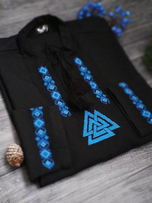 Valknut Blue Valknut shirt
