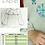 Thumbnail: Linen shirt with blue Vegvisir