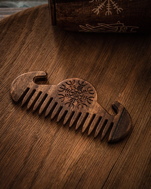 Men's comb Helm of awe