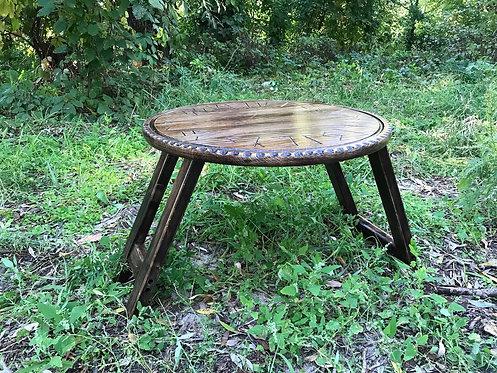 Handmade altar table
