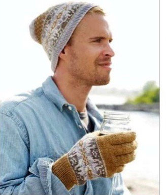 Gloves + hat