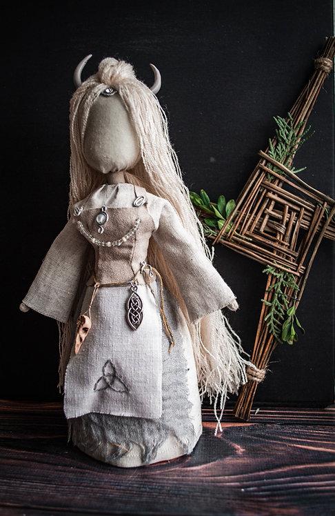 Kajsa Celtic witch doll