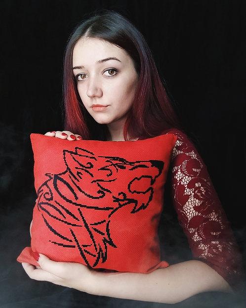Fenrir little pillow
