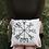 Thumbnail: Vegvisir dark green embroidered pillow