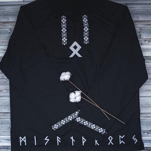 Othala Black Shirt with runes