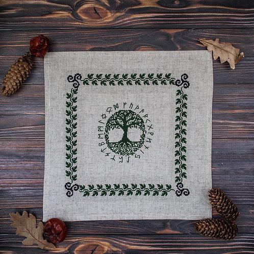 Yggdrasil altar cloth