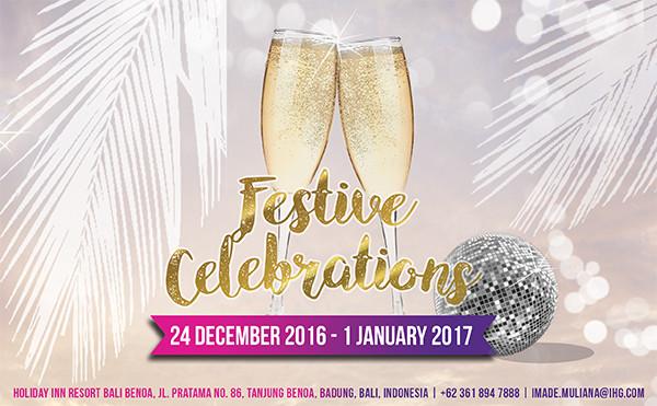 Celebrated The Jolliness of Festive Season With Holiday Inn Resort Bali Benoa