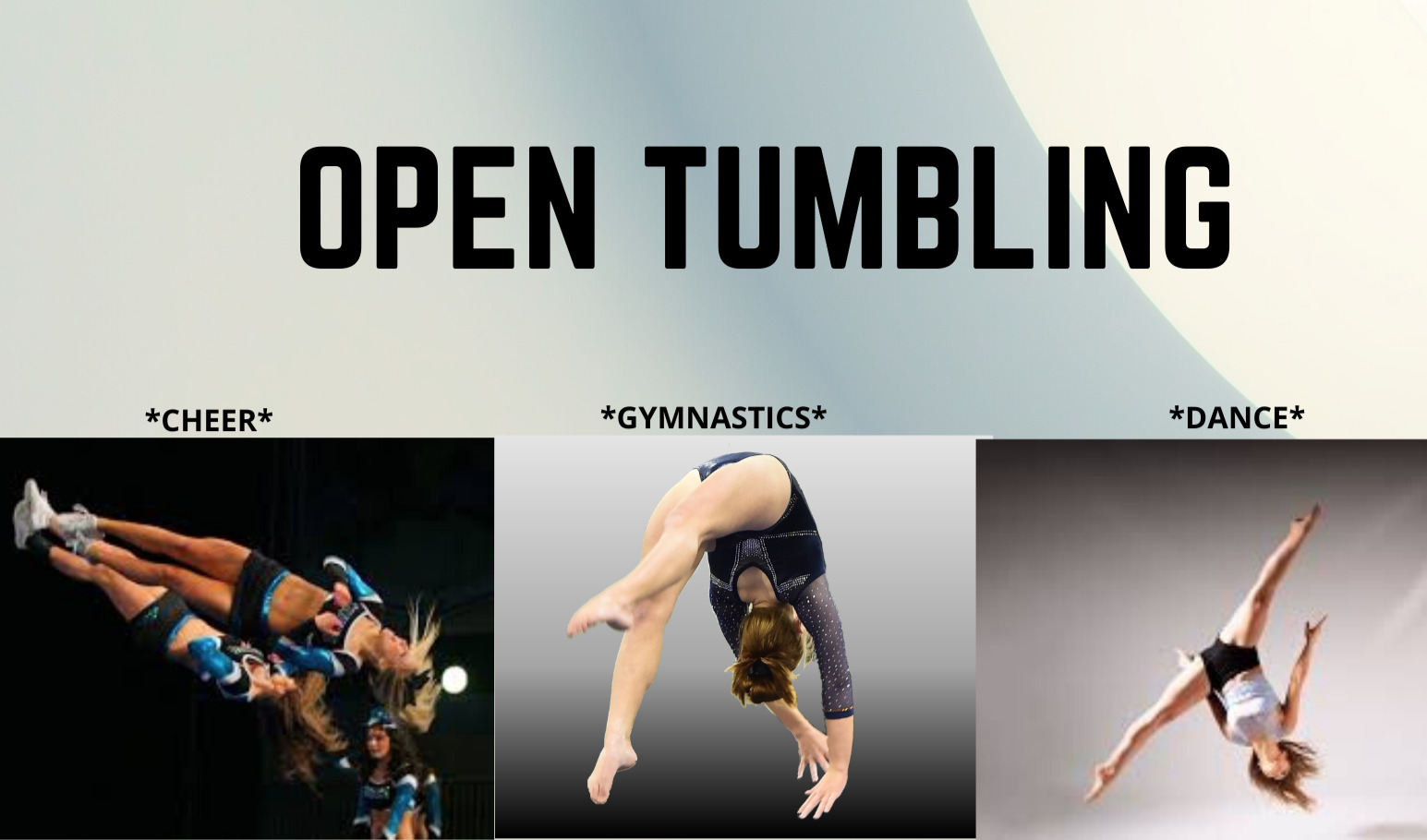 Open Tumbling