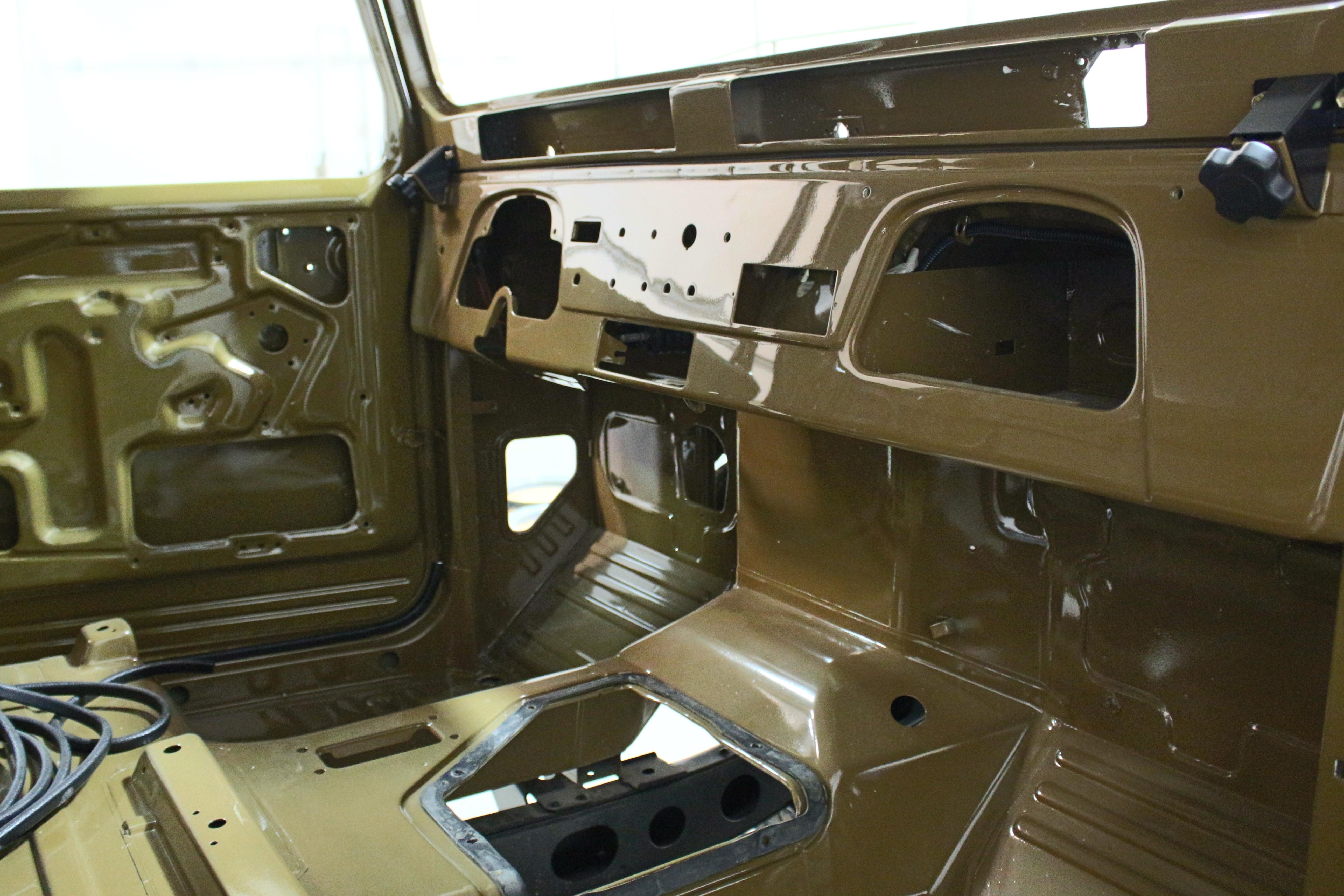 Olive 1980 FJ45 Pickup Truck