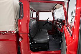 FJ45 interior
