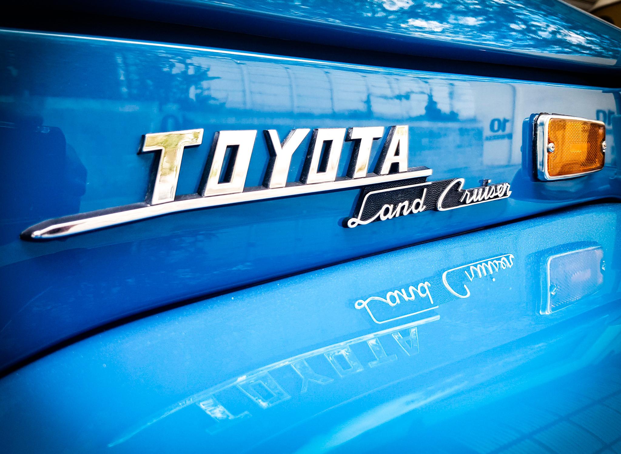 1973 Toyota Land Cruiser FJ40 Canvas