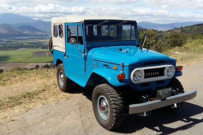 1973 blue FJ40