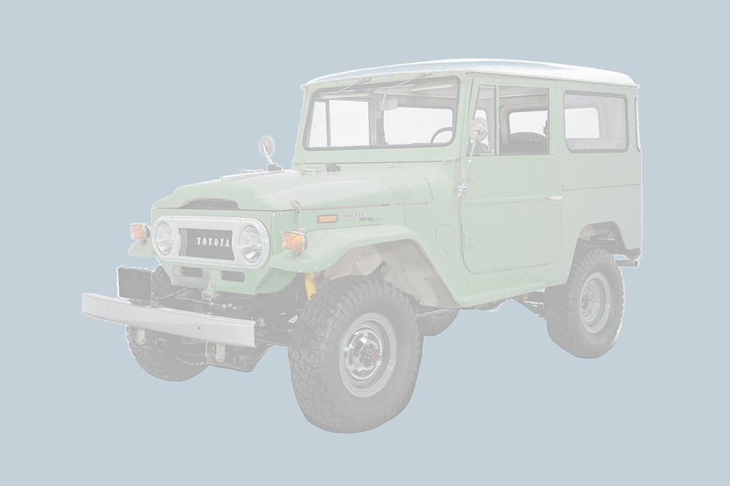 Green FJ40 1980